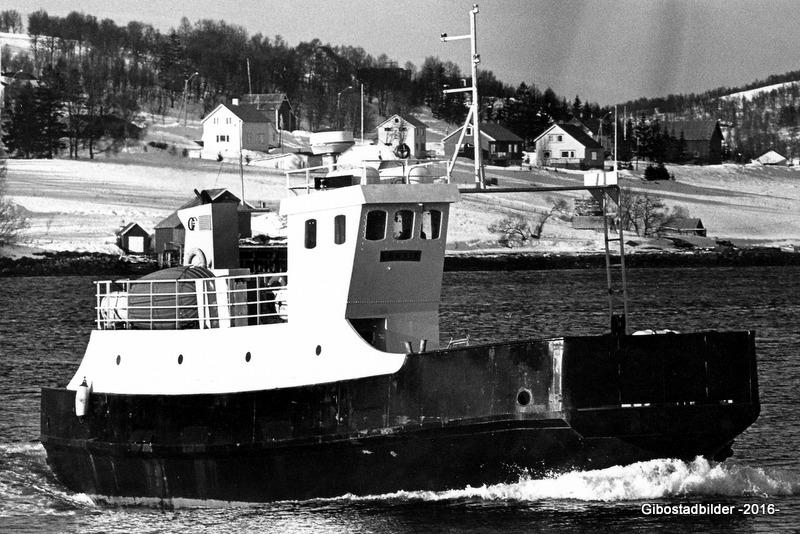 """MF """"Lenvik"""" ca 1982. Foto av Brynjulf Edvardsen"""