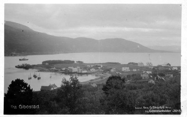 Gibostad ca 1922. O Skarbø 2682