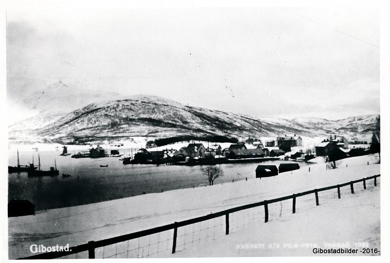 Gibostad 1932. Utgiver Film Foto, Tromsø