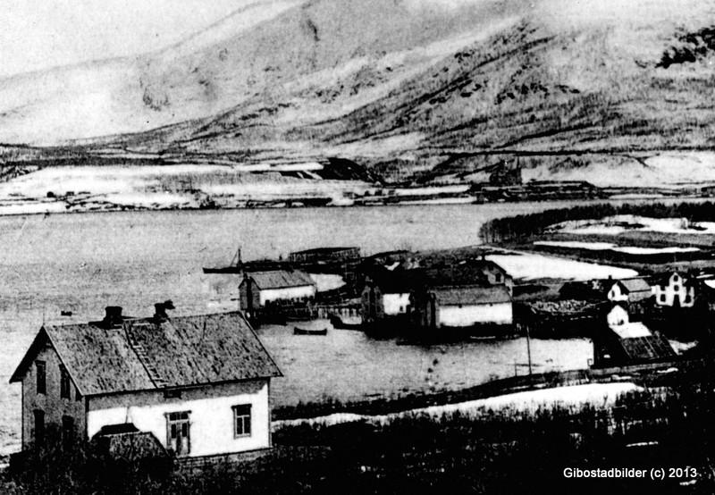 Fra bygginga våren 1909