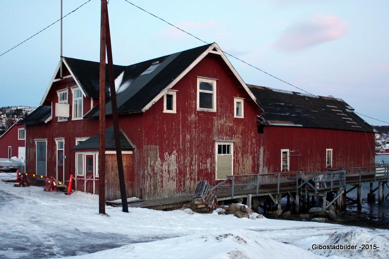 Gammelbutikken før restaureringa startet i 2010