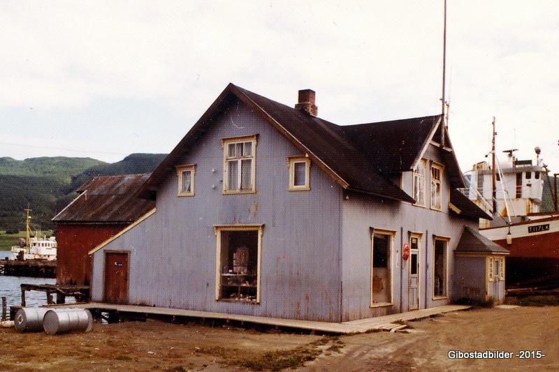 Gammelbutikken ca 1975