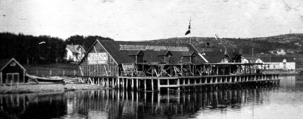Senjens Kulstation ca 1912