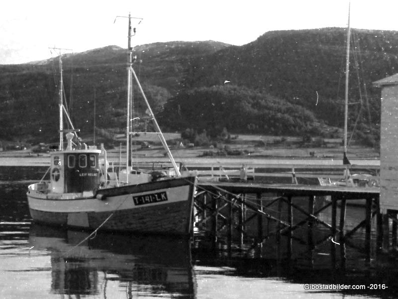 "MK ""Leif Helge"" T-141-LK var bygd på Rognan i 1950, og var 42 fot lang."